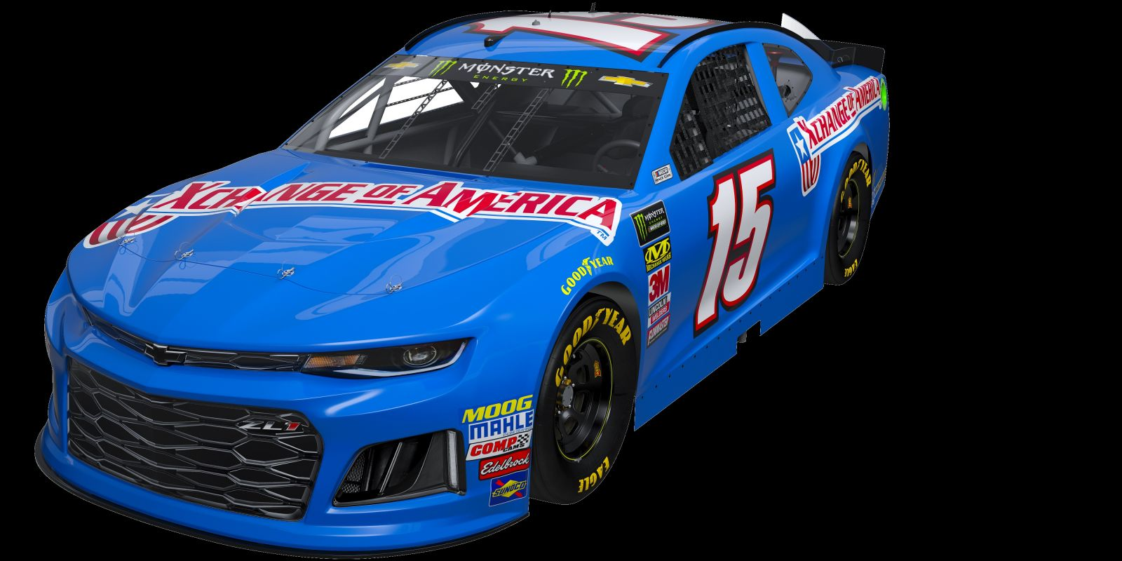 Come See Xchange Of America And Premium Motorsports Compete In The Monster Energy Nascar Cup Series