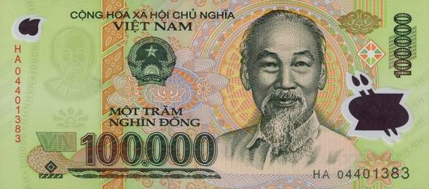 The Vietnamese Dong Code Vnd Has Been Currency Of Vietnam Since May 3 1978 Issued By State Bank It Is Represented Symbol
